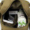 Outdoor Practical Durable Nylon Water-resistant Chest Bag - KHAKI