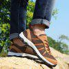 Men Outdoor Breathable Anti-slip Hiking Athletic Shoes - WOOD