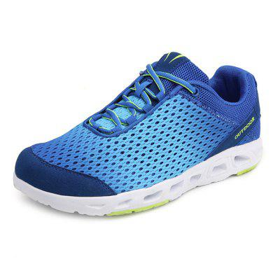 Homens elegantes respirável antiderrapante Athletic Shoes