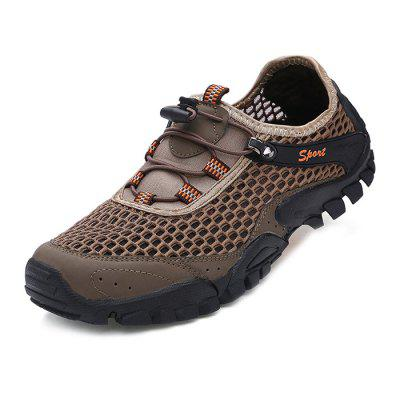 Men Casual Breathable Hiking Athletic Shoes