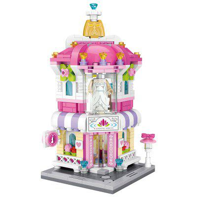 LOZ Creative Mini Wedding Shop Building Blocks