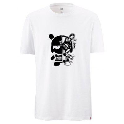 Xiaomi Youpin Leisure Cartoon Print Short Sleeve T-shirt