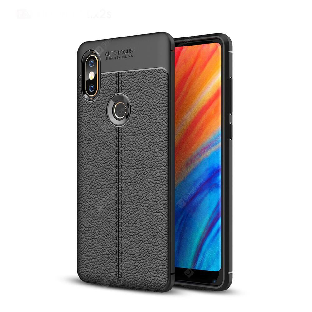 Luanke Lichee Veins TPU Protective Case for Xiaomi Mi Mix 2S