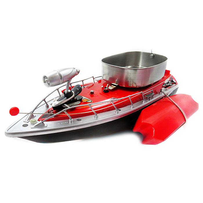 Flytec 2011 - 3 Third Generation RC Boat - FIRE ENGINE RED