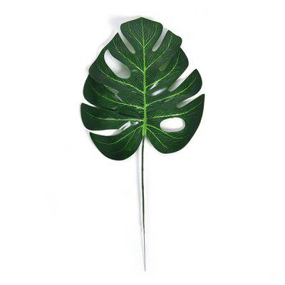 Feuille de décoration Monstera artificielle 10pcs