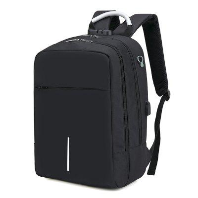 Men Leisure Laptop Backpack with USB Port