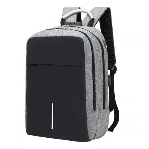 Mochila escolar notebook oxford com tampa super fashion city