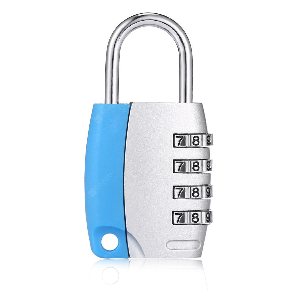 Waterproof Zinc Alloy Durable Password Lock For Suitcase 450 Combination Using Pic16f84 Free Shipping