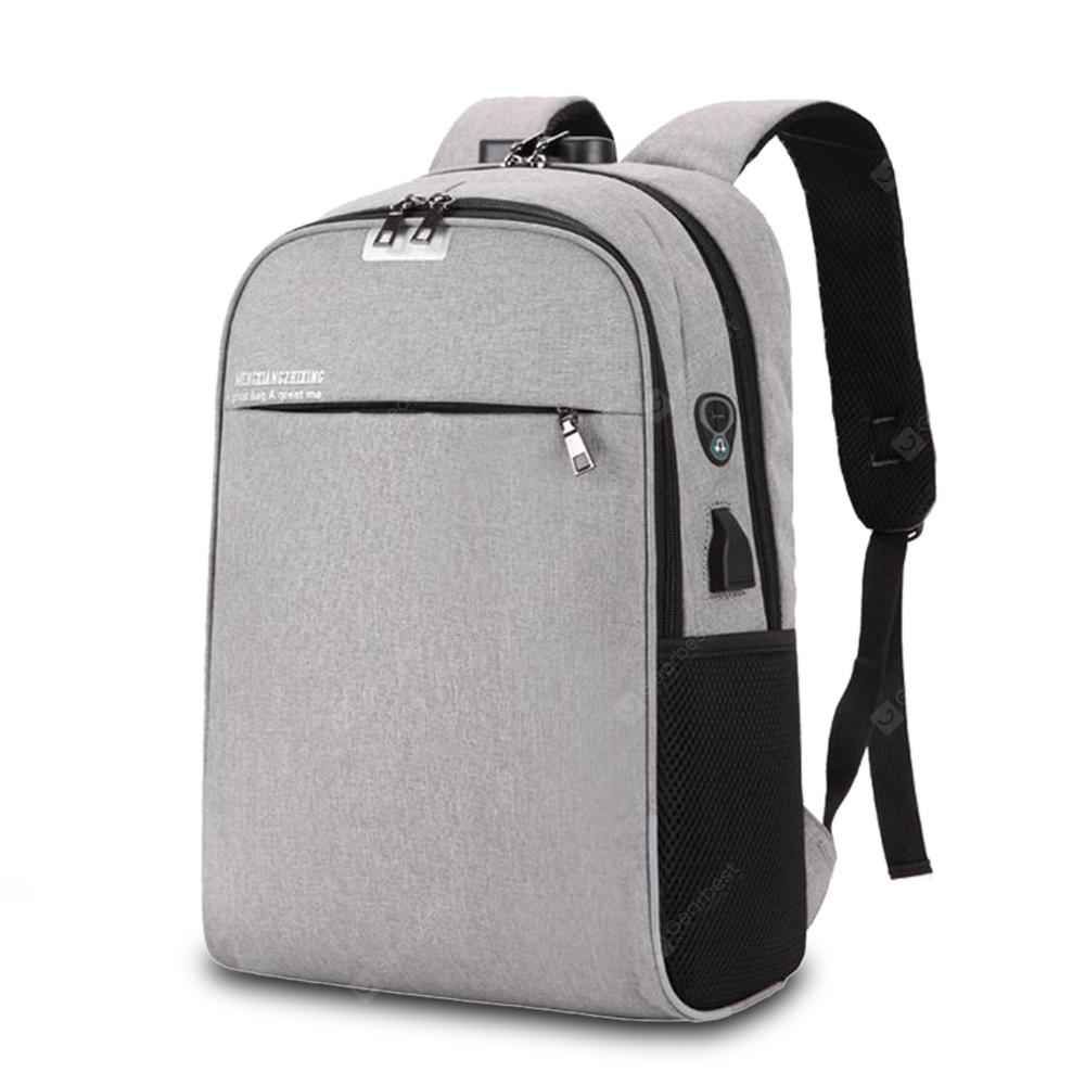 Leisure Anti Theft Lock Laptop Backpack For Men 1967 Free Notebook Protector Shipping