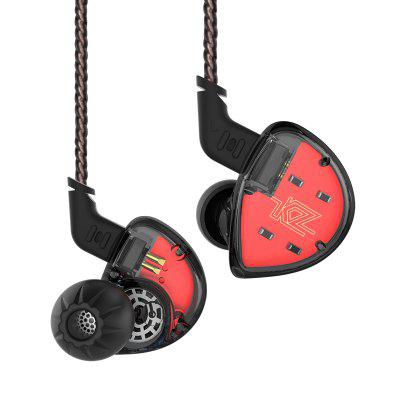 KZ ES4 HiFi Hybrid In-ear koptelefoon Wired oordopjes