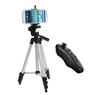 Cwxuan Selfie Tripod with Bluetooth Remote Control