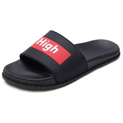 Men Fashion Street Letter Print Slippers