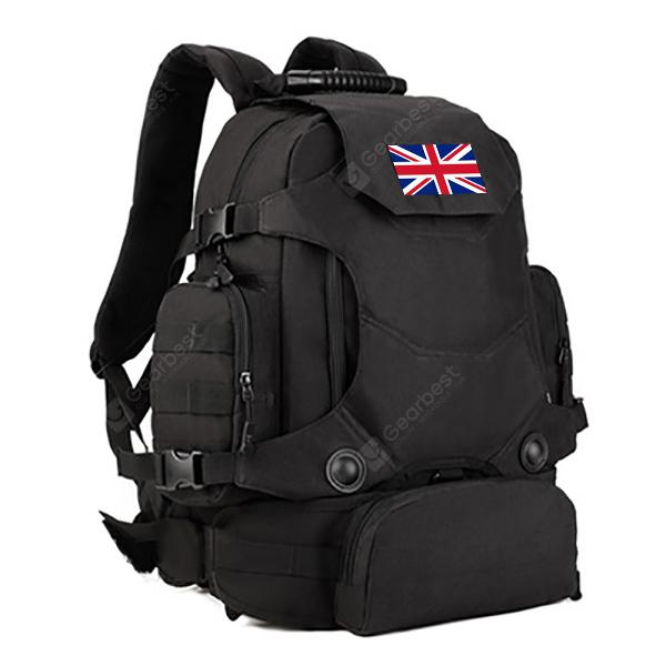 Male Outdoor Backpack with Waist Bag