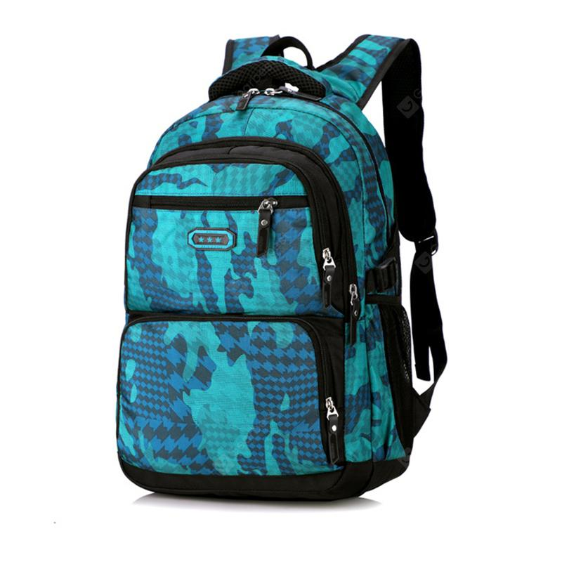 Fashion Camouflage Laptop Backpack for Men