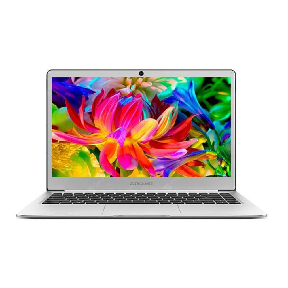 Teclast F7 Notebook 14.0 Zoll Windows 10 Home Deutsch Version Intel Celeron N3450 Quad Core 1.1GHz 6GB RAM 128GB SSD HDMI Kamera Bluetooth 4.2