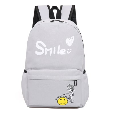 Female Cute Nylon Large Capacity Backpack