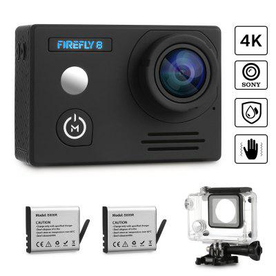 siroflo FIREFLY 8 4k 2160P Action Camera - BLACK в магазине GearBest