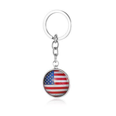 Fotbal National Flag Model Keychain pentru 2018 FIFA World Cup