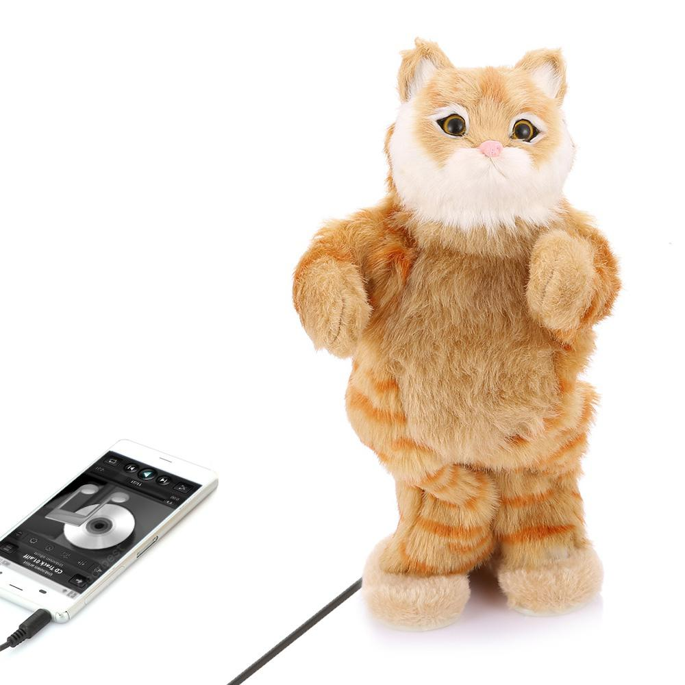 Party Animal Electric Plush Dancing Cat Speaker
