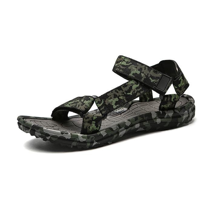 Men Fashion Summer Hollow-out Camouflage Sandals