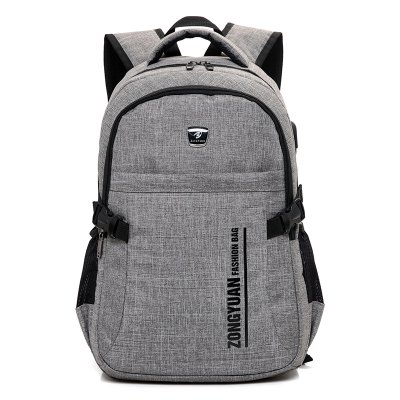 Male Durable Outdoor Backpack with USB Port