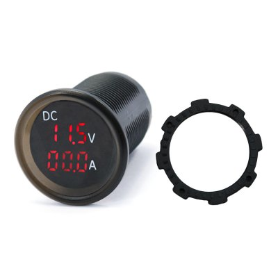 IZTOSS B3613 DC LED Dual Display Voltmeter Ammeter