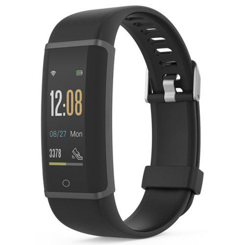 Gearbest Lenovo HX03F Smart Watch - BLACKBluetooth 4.2 Heart Rate Monitor