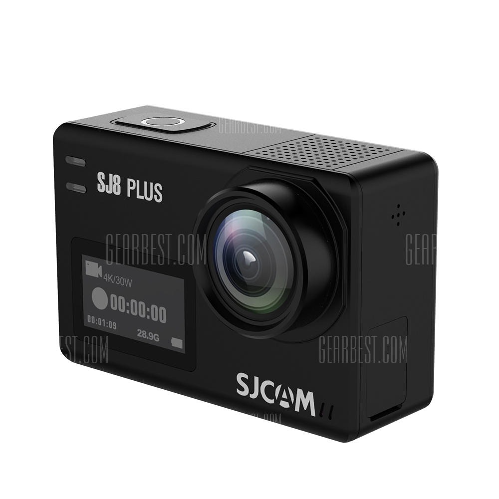 Gearbest SJCAM SJ8 Plus Native Dual Screen WiFi アクションカメラ
