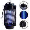 Electronic Non-toxic Mosquito Killer Lamp - BLACK