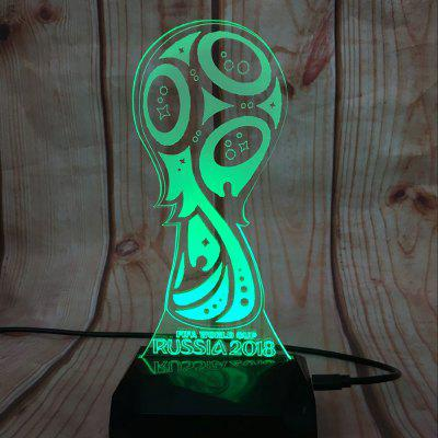 RD - A80505 - 002 Creative 7-colors USB Powered Night Lamp