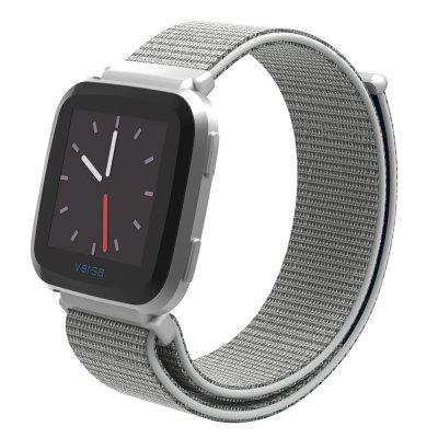 Nylon Loop Replacement Adjustable Strap Band for Fitbit Versa