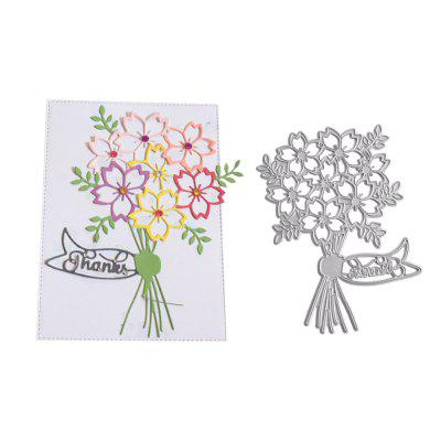 DIY Flower Carbon Steel Stencil Cutting Die Embossing Plate 2017 new honey bee silicone stamp cutting dies stencil frame for diy scrapbook album decor