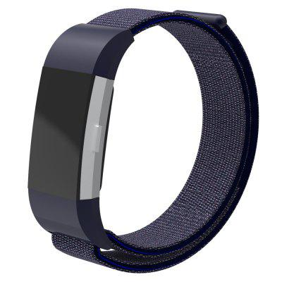 Nylon lusvervanging verstelbare band voor Fitbit Charge 2