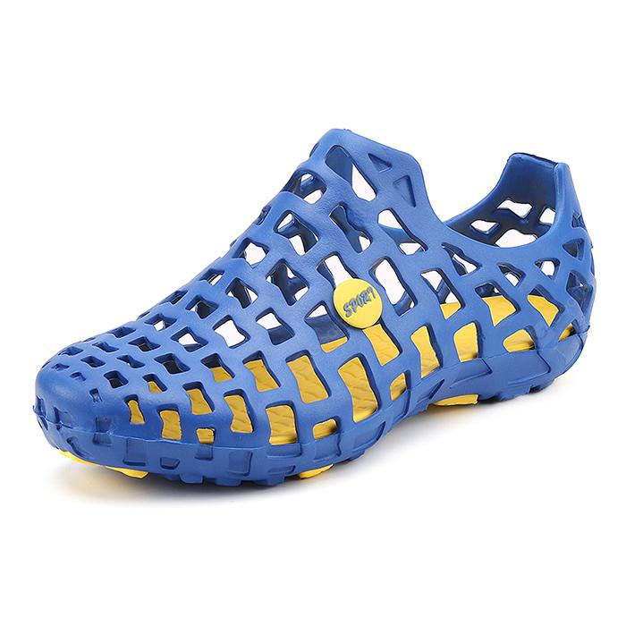 Men Trendy Summer Breathable Hollow Sandals