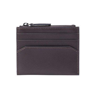 90FUN Stylish Minimalist Leather Coin Purse Wallet from Xiaomi Youpin