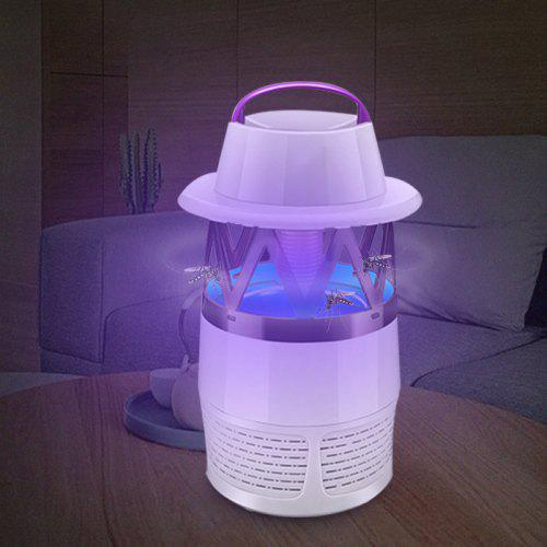 Indoor Bug Zapper Mosquito Fan Lamp Electric Led Killer e9YEDHIW2