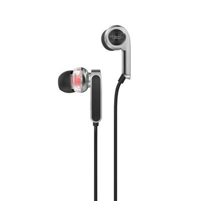 Macaw RT - 20 HiFi Dynamic Wired In-ear Earphones Earbuds qkz x41m magnetic earphones hifi fever in ear headphones transient headset heavy low quality earbuds virulent vocals
