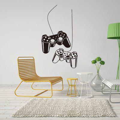 Game Controller Pattern Wall Sticker
