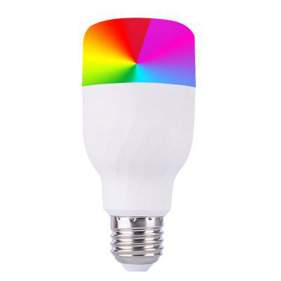 E27 Smart Bulb WiFi LED Light Dimmable RGBW Remote Control Lamp