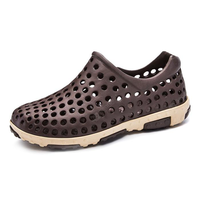 Simple Summer Breathable Hollow Sandals for Men