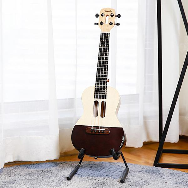Xiaomi Populele APP LED Bluetooth USB Smart Ukulele 1pc- Cream normal type
