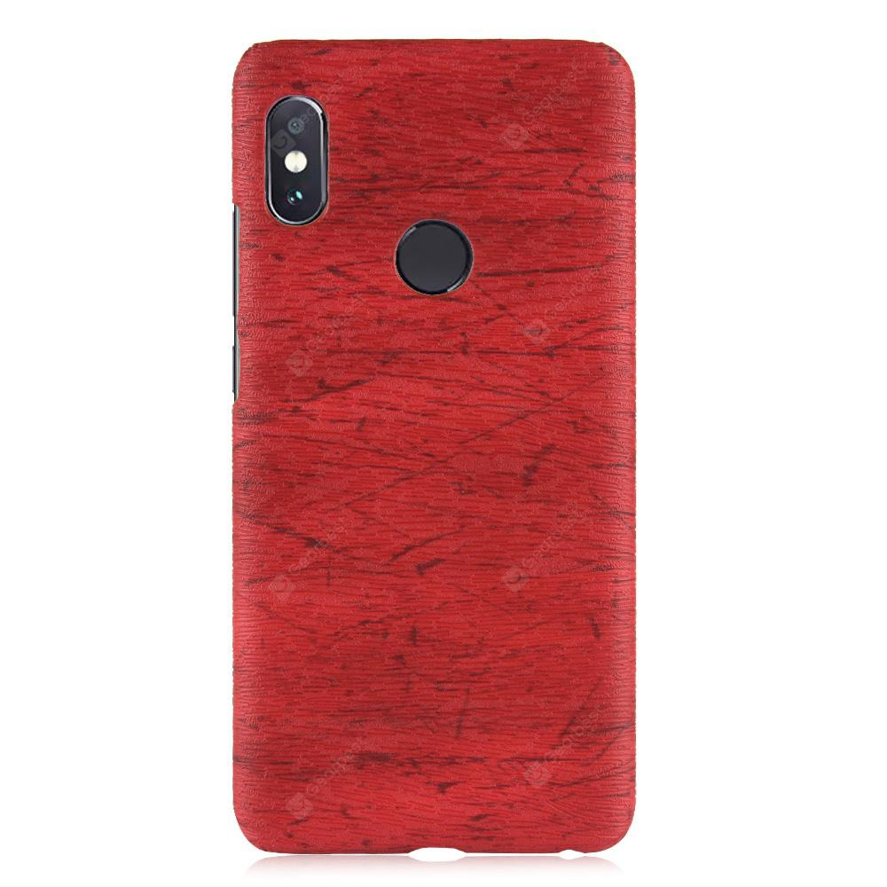 Luanke Wood Grain Phone Case for Xiaomi Redmi Note 5