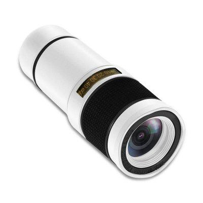 High Definition 14X Zoom Camera Telescope Telephoto 8x zoom optical mobile phone telescope camera white