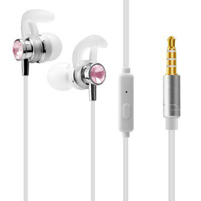 J1 Universal 1.2m Stereo In-ear wired Earphone with Mic gevo gv6 gaming headset stereo bass pure sound 3 5mm wired earphone in ear headphones with mic for iphone android phone sport