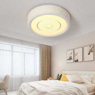 PS6221 Modern Simple Round Hollow Acrylic LED Ceiling Light ac90 260v acrylic modern led ceiling lights lamparas de techo home decoration for badroom living room ceiling lamp plafonnier