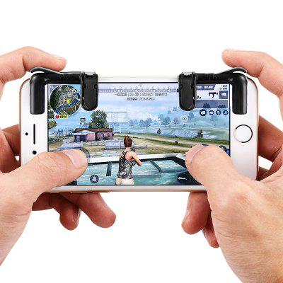gocomma Pair of Mobile Game Fire Button Shooting Trigger 1 set of the house of dead 3 shooting game kit for shooting game simulator machine amusement firing game cga monitor cabinet