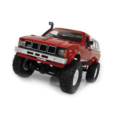 WPL C - 24 1/16 Military Buggy Crawler Off Road RC Car hsp 1 10 off road buggy bodyshell no 10728 31 17 6cm rc car electric rc car bodyshell for 94107 94107pro