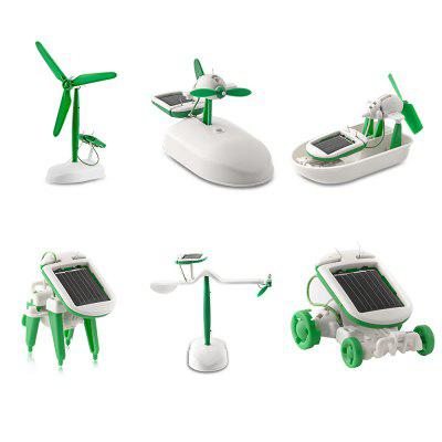 6-in-1 Solar Educational Toy DIY Kit