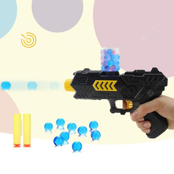 2 in 1 Soft Bullet Shooter Water Ball Toy Gun - BLACK from Gearbest Image