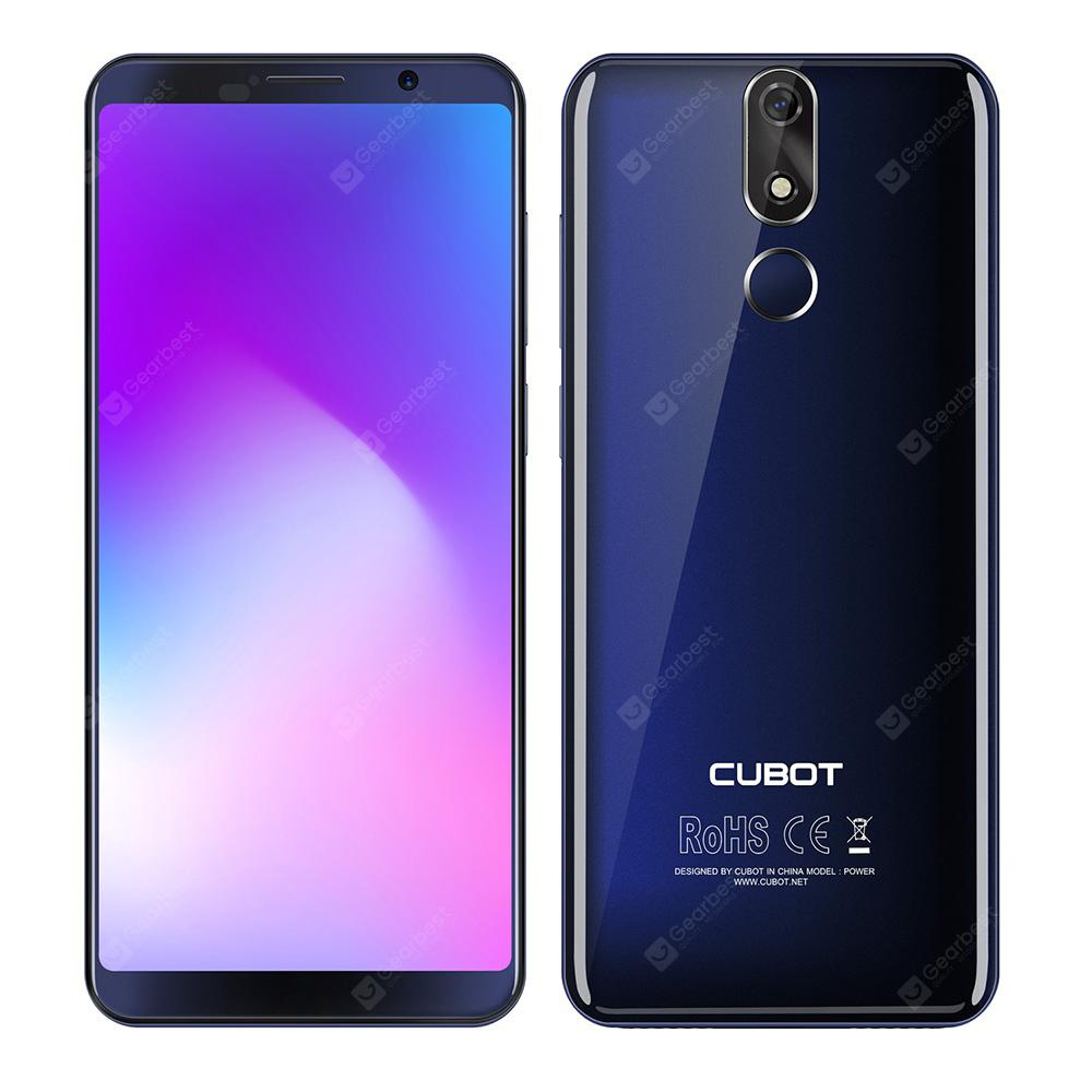 CUBOT POWER 4G Phablet - BLUE 6+128Go/ Androit 8.1/ 6000mah